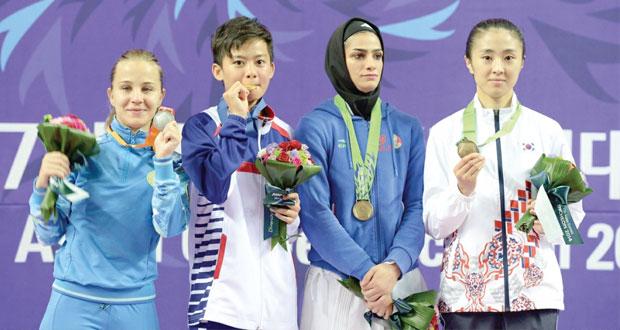 في دورة الألعاب الآسيوية أنشيون : كوريا لم تحقق الهدف وتراجع صيني وياباني وعربي