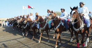 ختام ناجح لفعاليات مهرجان رياضات الخيل التقليدية الأول بولاية صور