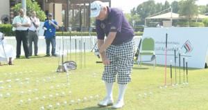 انطلاق فعاليات البطولة الكلاسيكية للجولف 2014 بملاعب الموج للجولف