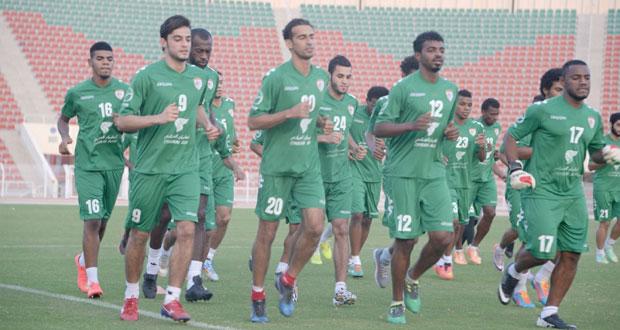 منتخبنا الوطني يواصل تدريباته بمشاركة (25) لاعبا وسط جدية وإصرار
