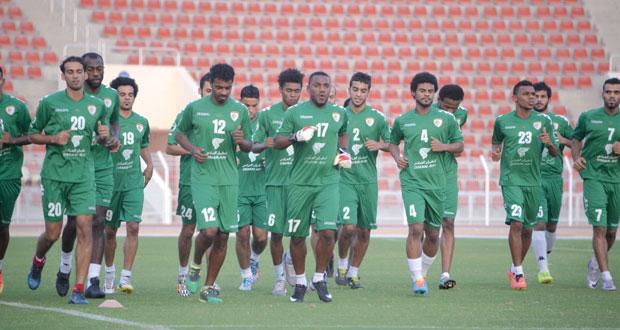 استعدادا لخليجي 22 : منتخبنا الوطني يختتم معسكره القصير ويلاقي المنتخب اليمني يوم السابع من الشهر المقبل