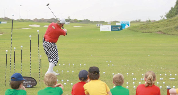 تواصل منافسات البطولة الكلاسيكية للجولف لليوم الثاني على التوالي