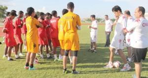 في نهائيات كأس أمم آسيا : منتخبنا الوطني للشباب يواجه شقيقه القطري من أجل العبور للدور الثاني
