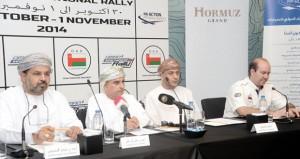لمسافة 720 كلم..اللجنة المنظمة تكشف النقاب عن رالي عمان الدولي 2014