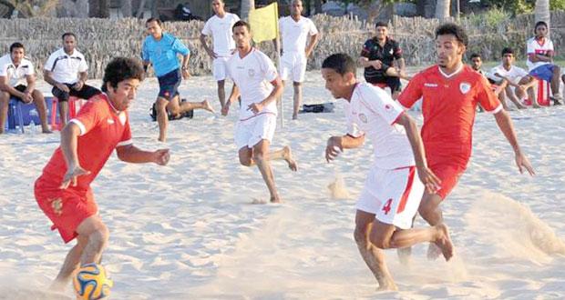 منتخبنا لكرة القدم الشاطئية يستعد للمشاركة بدورة الألعاب الآسيوية في تايلند