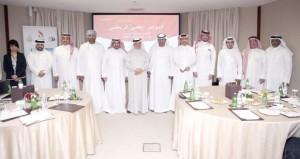 ختام أعمال اجتماعات المكتب التنفيذي لرؤساء اللجان الأولمبية الخليجية