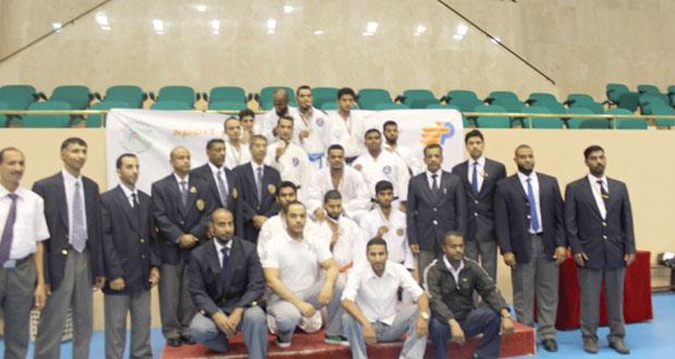 اختتام البطولة الدولية المفتوحة الأولى للكاراتيه