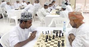 منافسات قوية تشهدها المرحلة الثانية لبطولة درع وزارة الشؤون الرياضية الأولى للشطرنج