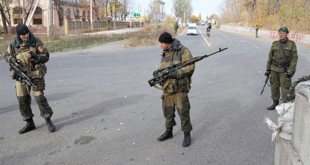 أوكرانيا: انفجار عنيف في (دونيتسك) وقتلى من الجيش في (لوغانسك)