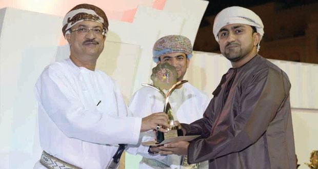 """أدهم الفارسي يخطف الجائزة الكبرى في مسابقة الفنون التشكيلية """"الأعمال الفنية الصغيرة لعام 2014″"""