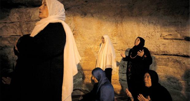 الفرحة تغمر فلسطينيي غزة لدى دخولهم القدس