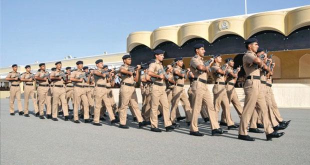 الاحتفال باختتام النسخة الثالثة من مسابقة شرطة عمان السلطانية للمشاة لعام 2014
