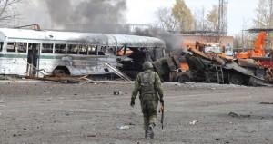 الأزمة الأوكرانية: 12 بين قتيل وجريح في تجدد المعارك بالشرق