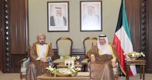 رئيس الوزراء الكويتي ورئيس مجلس الأمة يستقبلان رئيس مجلس الشورى