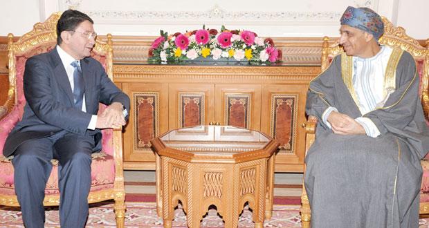 فهد بن محمود يستقبل الأمين العام لمنظمة السياحة العالمية