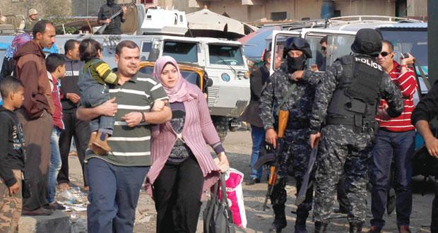 مصر تعلن إجهاض (دعوات التخريب).. والتأمين مستمر