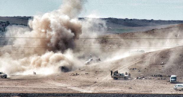 سوريا الداخل تتوحد ضد الإرهاب وأميركا قلقة على (مسلحيها المعتدلين)