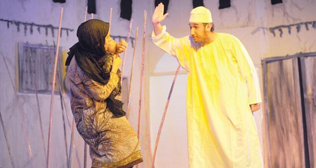فرقة مسرح مزون تشارك في فعاليات الدورة 21 لمهرجان المسرح الأردني