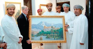 """مجموعة كيمجي رامداس ترعى المعرض الفني """"عمان التقليدية"""""""