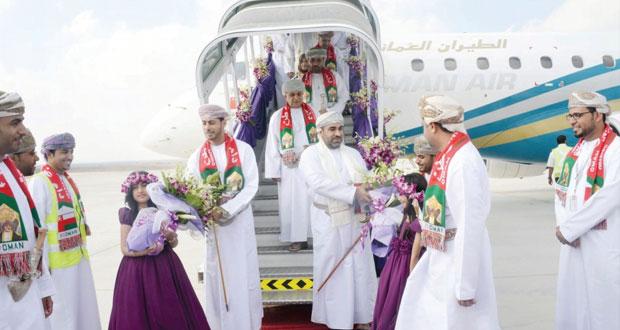 الفطيسي يرعى الاحتفال بتشغيل مطار صحار والأشهر القادمة ستشهد طرح الحزمة الثالثة للمشروع