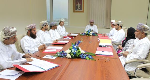 مجلس إدارة الهيئة يستعرض إجراءات قرار تخصيص الأراضي بحق الانتفاع للمؤسسات الصغيرة والمتوسطة