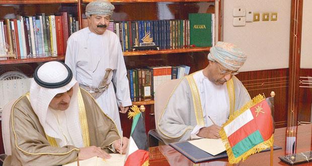 السلطنة توقع اتفاقية منحة مع الصندوق الكويتي للتنمية الاقتصادية العربية بـ 672 مليونا و595 ألف ريال عماني