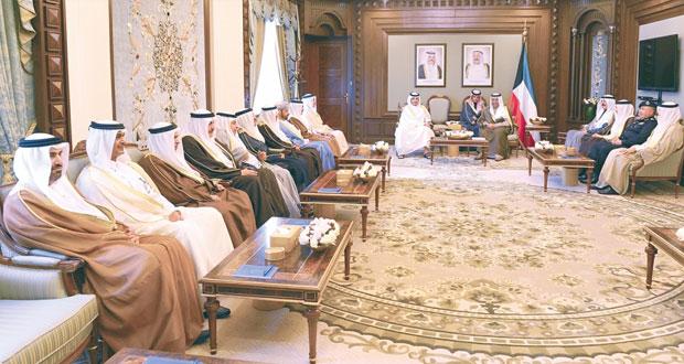 """حمود بن فيصل يشارك في الاجتماع الـ""""33″ لوزراء الداخلية بدول المجلس بالكويت"""