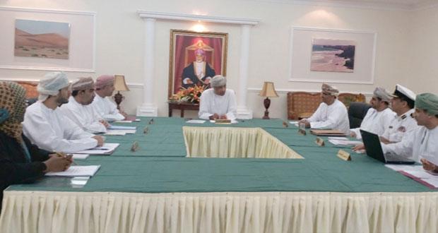 مجلس إدارة الهيئة العامة لسجل القوى العاملة يستعرض سياسة عمل الهيئة القادمة