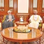 المنذري والمعولي يبحثان تعزيز التعاون البرلماني بين السلطنة وإيران
