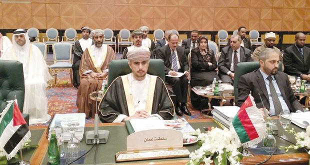اختيار السلطنه عضوا في المكتب التنفيذي لمجلس وزراء العدل العرب