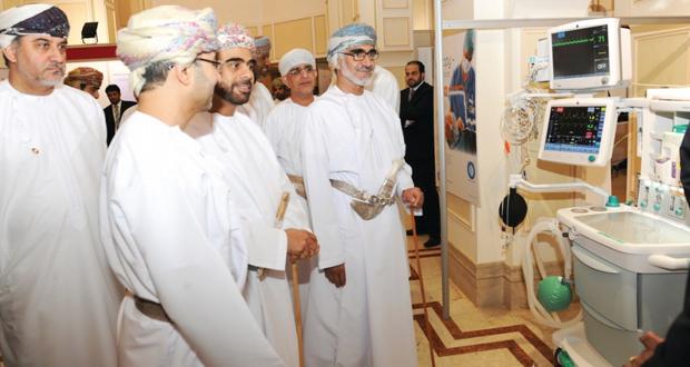 وكيل وزارة الصحة لشئون التخطيط يفتتح فعاليات مؤتمر عمان الدولي للتخدير والعناية المركزة
