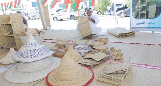 الاحتفال بافتتاح سوق الحرفيين بنيابة سناو