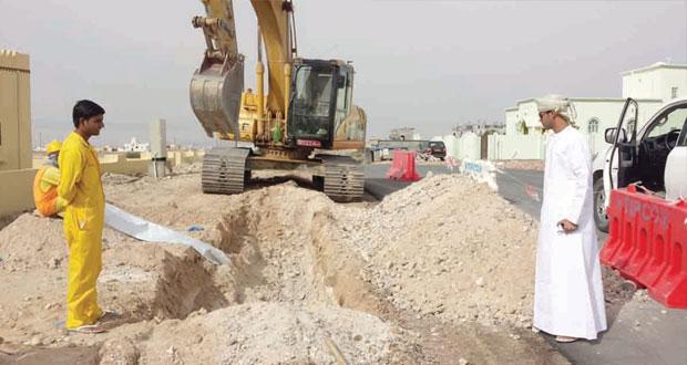 البلديات الاقليمية تواصل تنفيذ المشاريع التنموية بمختلف محافظات السلطنة
