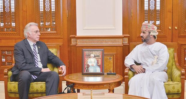 رئيس مجلس الشورى يستقبل المدير التنفيذي لمجلس سياسات الشرق الأوسط بواشنطن
