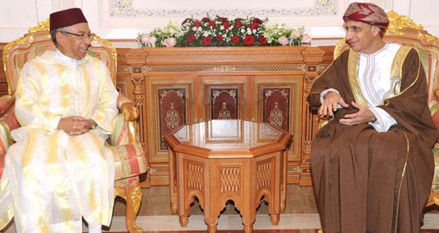 فهد بن محمود يستقبل الرئيس الأول لمحكمة النقض بالمملكة المغربية