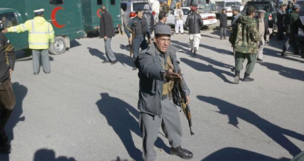 أفغانستان: قائد شرطة كابول ينجو من هجوم انتحاري