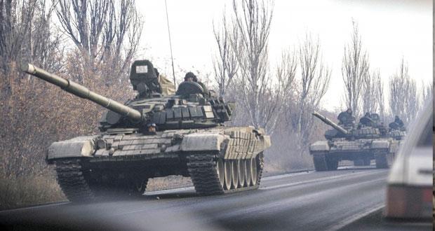 أوكرانيا: جرحى في اعتداء على حانة وتعزيزات عسكرية جديدة للانفصاليين بالشرق