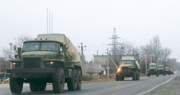 أوكرانيا تسحب (الخدمات العامة) من مناطق الانفصاليين وروسيا تسعى لتخفيف مخاطر الأزمة