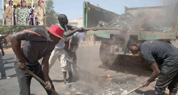 بوركينا فاسو: الجيش يحسم الصراع على السلطة بإعلان زيدا لقيادة (الانتقالية)