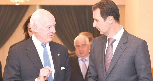 رئيس مجلس الشعب السوري في الجزائر لتنسيق التعاون