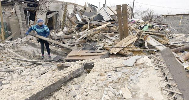 أوكرانيا: عشرات القتلى والجرحى بمعارك (دونيتسك) ولا مؤشرات على التهدئة