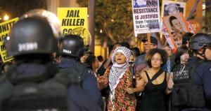 أميركا: هدوء حذر في (فرجسون) والغضب يمتد إلى لندن