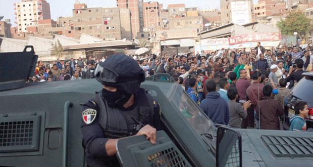 مصر: اغتيال ضابطي جيش ومجند ومقتل 4 بعنف تخلل التظاهرات