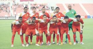 المنتخب الوطني يختتم برنامجه التدريبي على ملعب شؤون البلاط السلطاني
