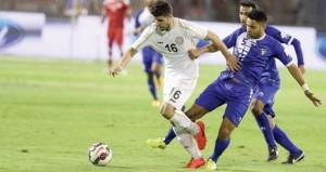 الأزرق الكويتي يحقق فوزا مثيرا على أسود الرافدين