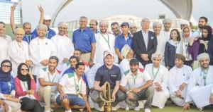 ختام مثير لفعاليات البطولة الكلاسيكية للجولف مسقط 2014