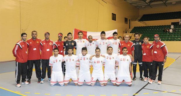 تتواصل بنجاح البطولة الخليجية العسكرية الأولى لخماسيات كرة القدم داخل الصالات