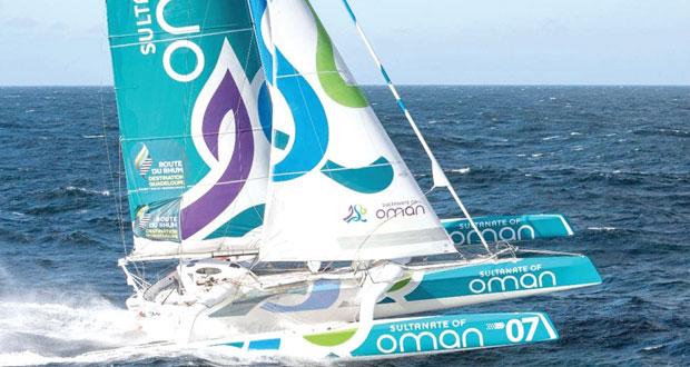 """ـ القارب """" مسندم """" يبدأ مشواره في سباق روت دورام محملا بالآمال والطموح لتحقيق إنجاز جديد"""