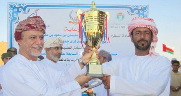نادي المضيبي يختتم مسابقة الرماية التقليدية السابعة بمناسبة العيد الوطني الـ44 المجيد