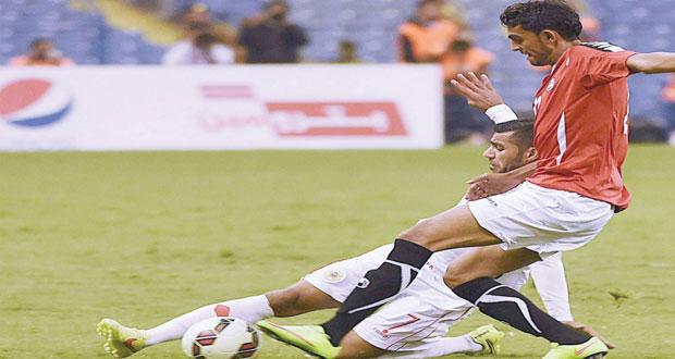 المنتخب اليمنى يجبر نظيره البحريني على التعادل بلا أهداف